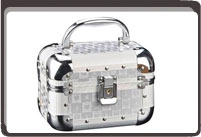 Aluminum cosmetic cases